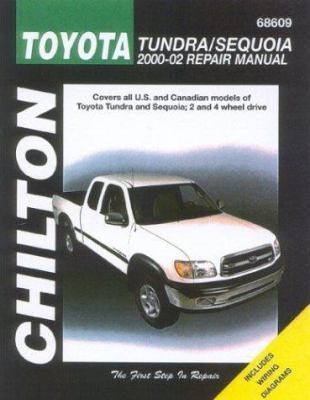 Similar items chiltons toyota coarolla 1988 97 repair manual chiltons toyota tundrasequoia 2000 02 repair manual fandeluxe Images