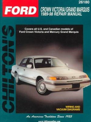 Similar items chiltons ford windstar 1995 98 repair manual chiltons ford crown victoria grand marquis 1989 98 repair manual freerunsca Images