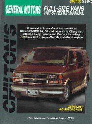 ford full size vans 1989 96 chilton total car care series manuals