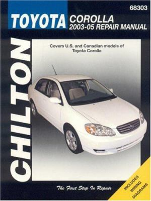 Similar items chiltons toyota coarolla 1988 97 repair manual chiltons toyota corolla 2003 05 repair manual fandeluxe Images